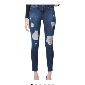 Good American Jeans - Good Legs Raw Edge Skinny Jeans